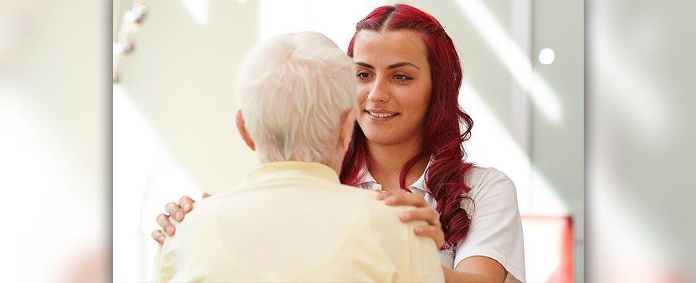 Sie bleiben mit uns in Kontakt und können bei Bedarf täglich Leistungen abfordern.